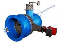 Поставка узлов газохода (затвор регулирующий с э/п, предохранительный клапан) для электростанции цементного завода